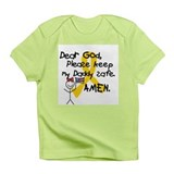 Keep Daddy Safe with Little Girl Infant T-Shirt
