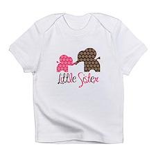 Little Sister Elephant Infant T-Shirt