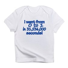 From 0 to 1 Baby Boy Infant T-Shirt