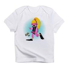 Scuba Girl (blonde) Infant T-Shirt