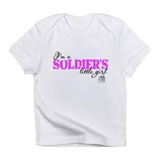 Unique Army daughter Infant T-Shirt