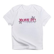 move it (pink) Infant T-Shirt