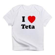 I heart Teta Infant T-Shirt