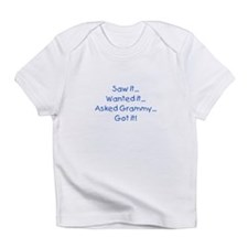 Asked Grammy Blue Infant T-Shirt