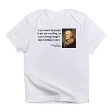 Thomas Jefferson Quote 1 Infant T-Shirt