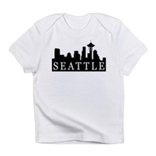 Seattle Skyline Infant T-Shirt