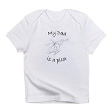 My Dad is a Pilot Helicopter Infant T-Shirt