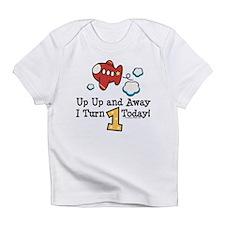 1st Birthday Airplane Infant T-Shirt