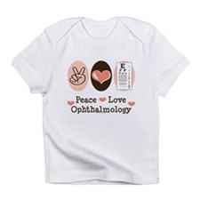 Peace Love Ophthalmology Infant T-Shirt