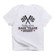 Daddy's Little Race Track Buddy Infant T-Shirt