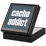 Cache Addict Keepsake Box