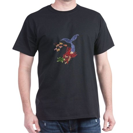 Ramah's Mermaid (on dark) Dark T-Shirt