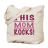 This Mom Rocks Tote Bag