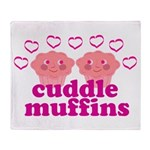Cuddle Muffins Throw Blanket