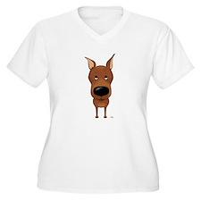 Big Nose Min Pin T-Shirt