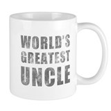 World's Greatest Uncle (Grunge) Small Mug