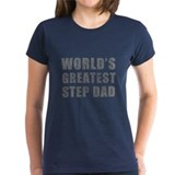 World's Greatest Step Dad (Grunge) Tee