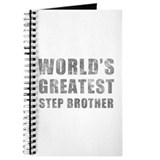World's Greatest Step Brother (Grunge) Journal