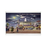 Wildwood Boardwalk Rectangle Magnet