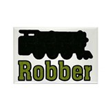 Train Robber Rectangle Magnet