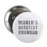 "World's Greatest Grandad (Grunge) 2.25"" Button (10"