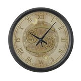 Cancer Zodiac Symbol Large Wall Clock