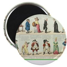 "Unique Accountant 2.25"" Magnet (100 pack)"
