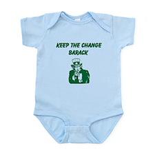 Funny Keep the change Infant Bodysuit