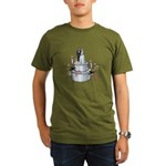 Wedding Cake Organic Men's T-Shirt (dark)