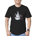 Wedding Cake Men's Fitted T-Shirt (dark)