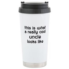 Cool Uncle Ceramic Travel Mug