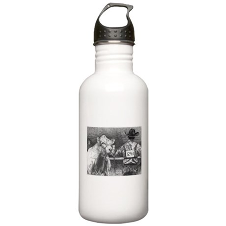 """Is He Lookin' Charolais Stainless Water Bottle 1."