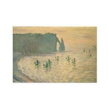 Unique Monet Rectangle Magnet (100 pack)