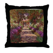 Cute Impressionist Throw Pillow