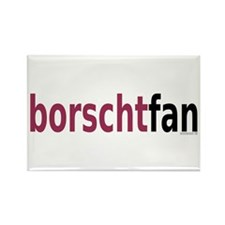 BorschtFan Rectangle Magnet (10 pack)