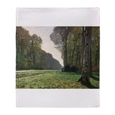 Cute Impressionist Throw Blanket