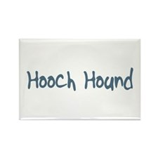 Hooch Hound Rectangle Magnet