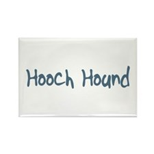 Hooch Hound Rectangle Magnet (10 pack)