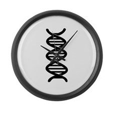 DNA Large Wall Clock