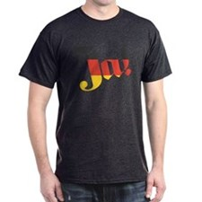 German Flag Ja! T-Shirt