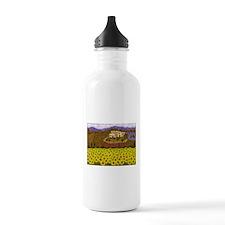 Cute Sunflower field Water Bottle