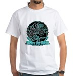 BMX Born to ride White T-Shirt