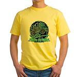 BMX Born to ride Yellow T-Shirt