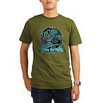 BMX Born to ride Organic Men's T-Shirt (dark)