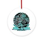 BMX Born to ride Ornament (Round)