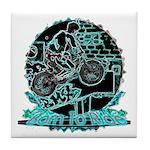BMX Born to ride Tile Coaster