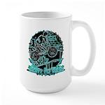 BMX Born to ride Large Mug