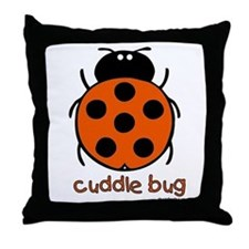 cuddle bug Throw Pillow
