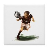 Unique Soccer jerseys Tile Coaster