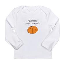 Mommy's Little Pumpkin Long Sleeve Infant T-Shirt
